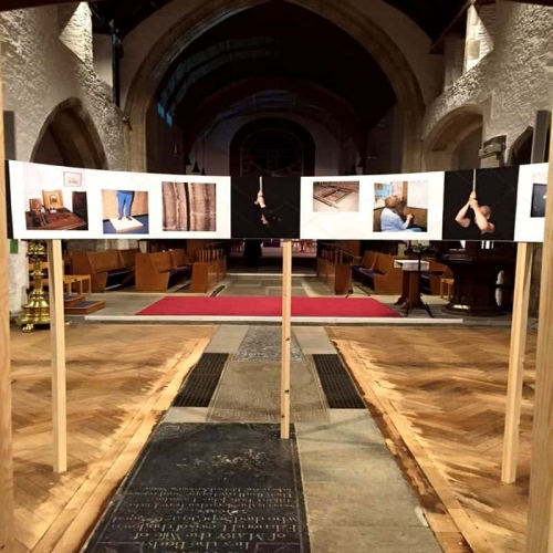 Hiring The Cathedral Hall - Art Exhibition