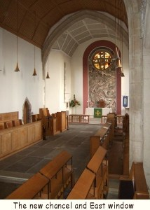 New chancel and East window 1960-63